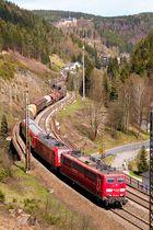Burgblick Lauenstein im Frankenwald