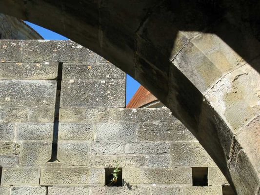 Burgeingang in Carcassonne