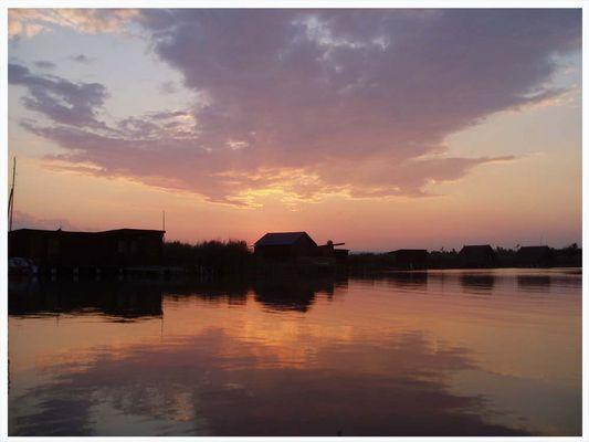 Burgenland-Sonnenuntergang