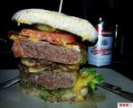 Burger mal medium...