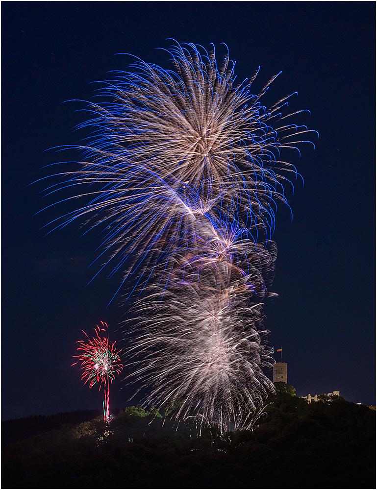 Burgfest Feuerwerk