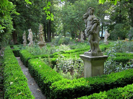 Burggarten Rothenburg o d T
