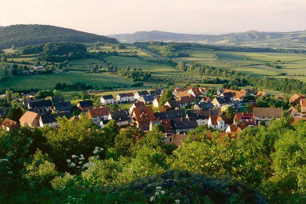 Burghasungen - Blick vom Burghasunger Berg