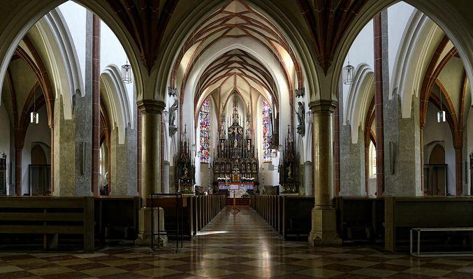 Burghausen St. Jakob-Kirche