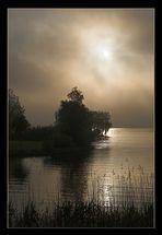 Burginsel am Morgen