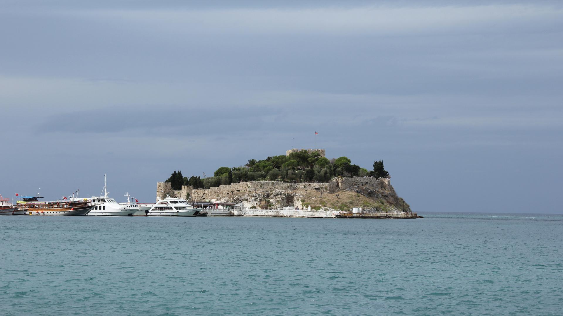 Burginsel bei Kasadasi
