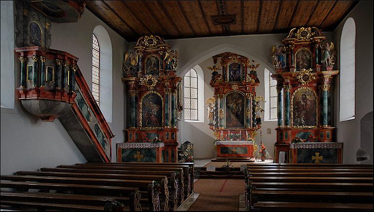 Burgkirche Schöllang ( Oberallgäu)