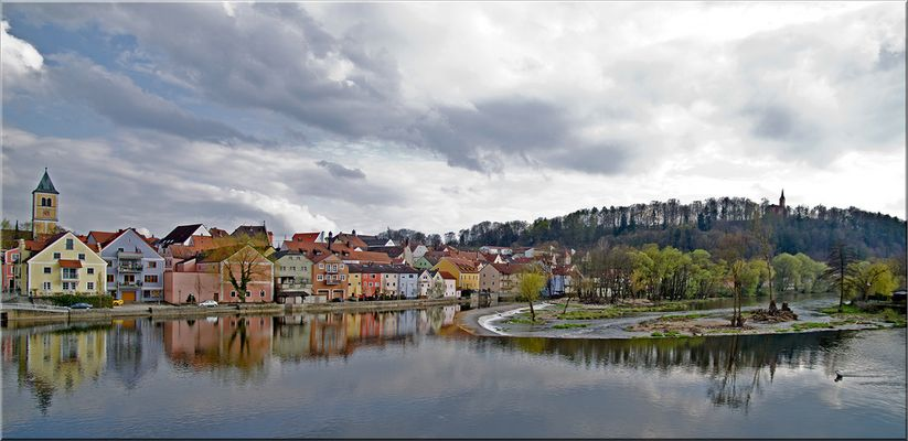 Burglengenfeld im Frühling