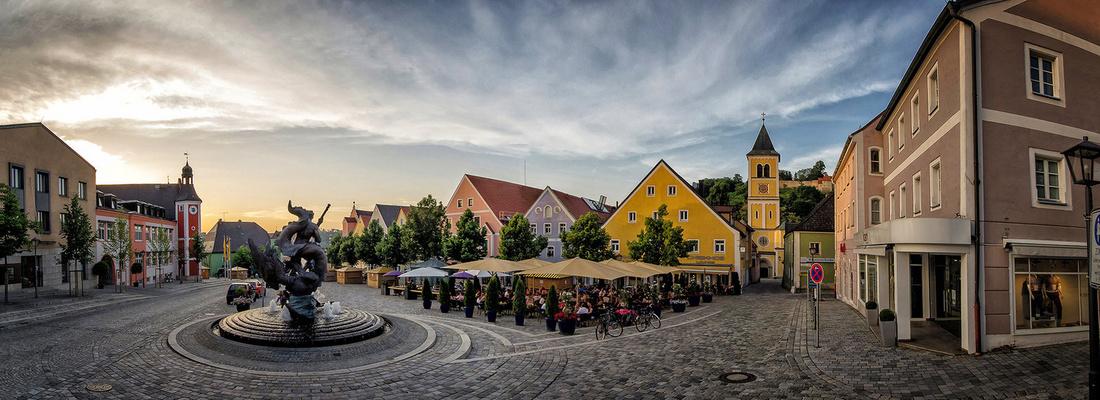 Burglengenfeld Marktplatz