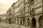 ...Burgos silenciosa...en sepia..