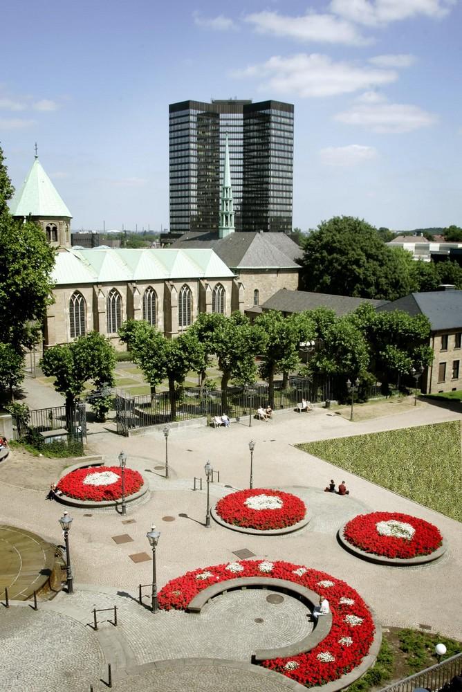 Burgplatz in Essen