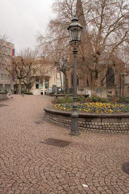 Burgplatz in Essen City