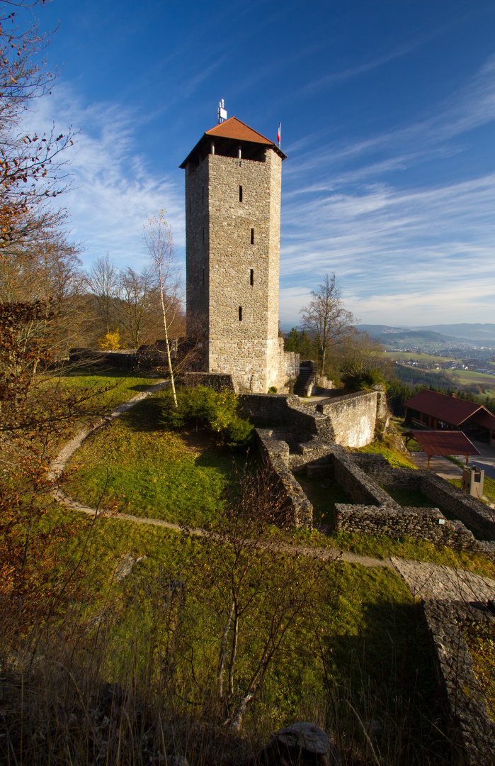 Burgruine Altnußberg (4)