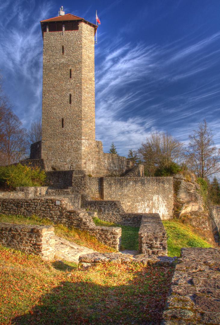 Burgruine Altnußberg HDR (1)