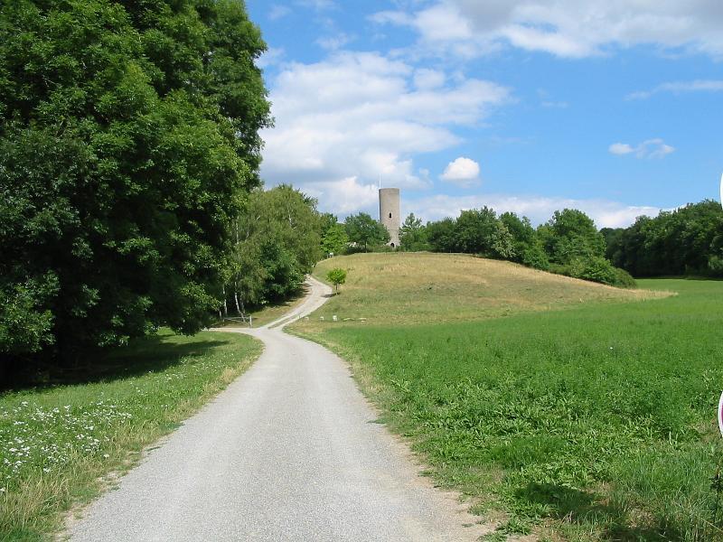 Burgruine bei Aub