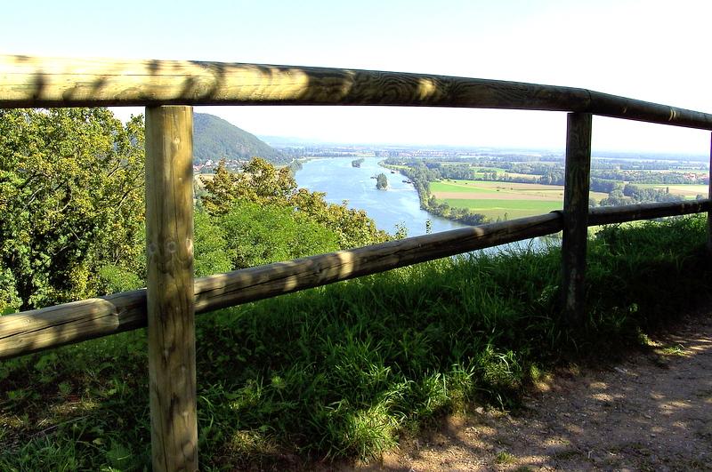 Burgruine Donaustauf - Blick auf die Donau