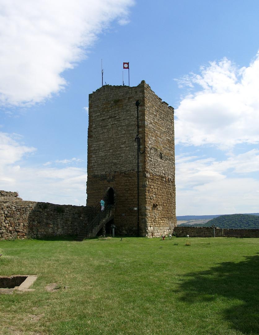 Burgruine Gleichen - Bergfried