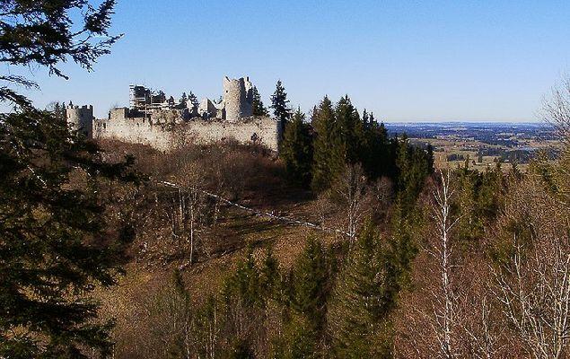 Burgruine Hohen-Freyberg bei Pfronten/Allgäu