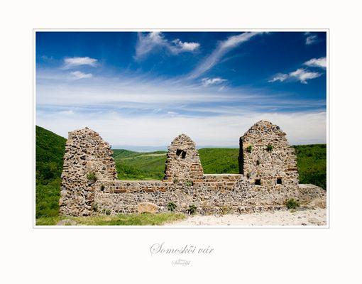 Burgruine in der Süd-Slovakai