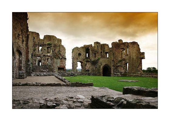 Burgruine in Wales