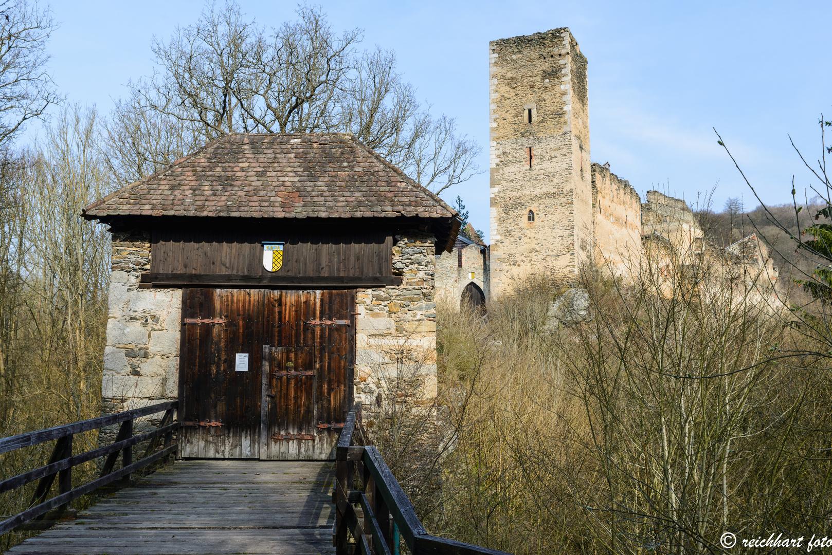 Burgruine Kaja