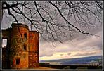 Burgruine mit Blick ins Bamberger Umland