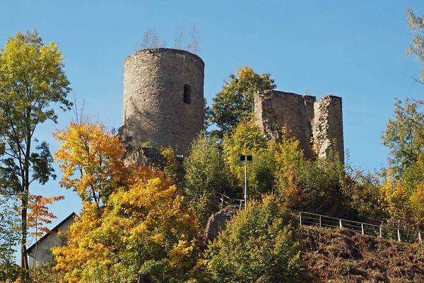 Burgruine Niederlauterstein