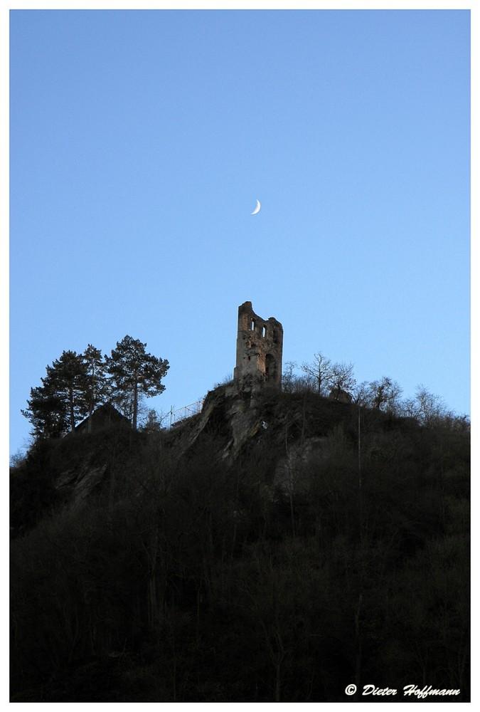 Burgruine oberhalb von Traben-Trarbach / Mosel