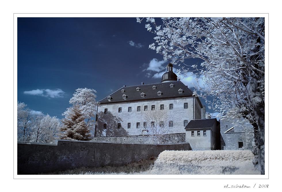 Burgruine und Schloss Frauenstein / Sa. (2/8)