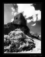 Burgruine und Schloss Frauenstein / Sa. (5/8)