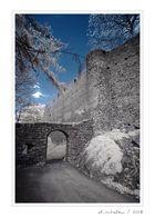 Burgruine und Schloss Frauenstein / Sa. (8/8)