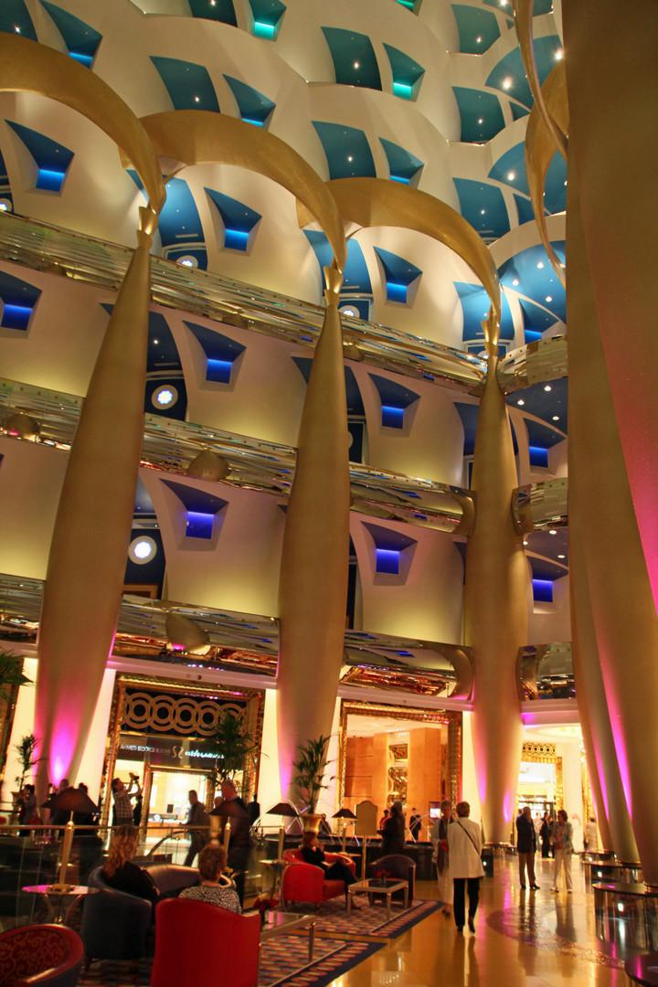 Burj Al Arab - Innenansicht