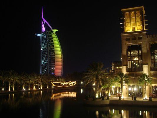 Burj Al Arab mit Souk Madinat