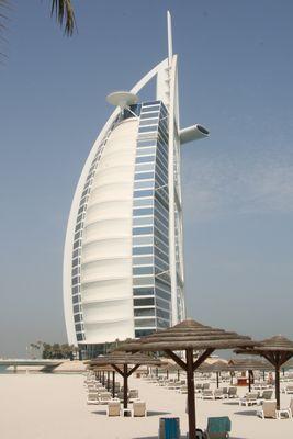 burj al arab vom jumeirah beach