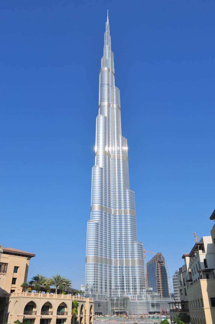Burj Dubai - der Turm zu Dubai