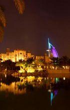 Burj El Arab de nuit