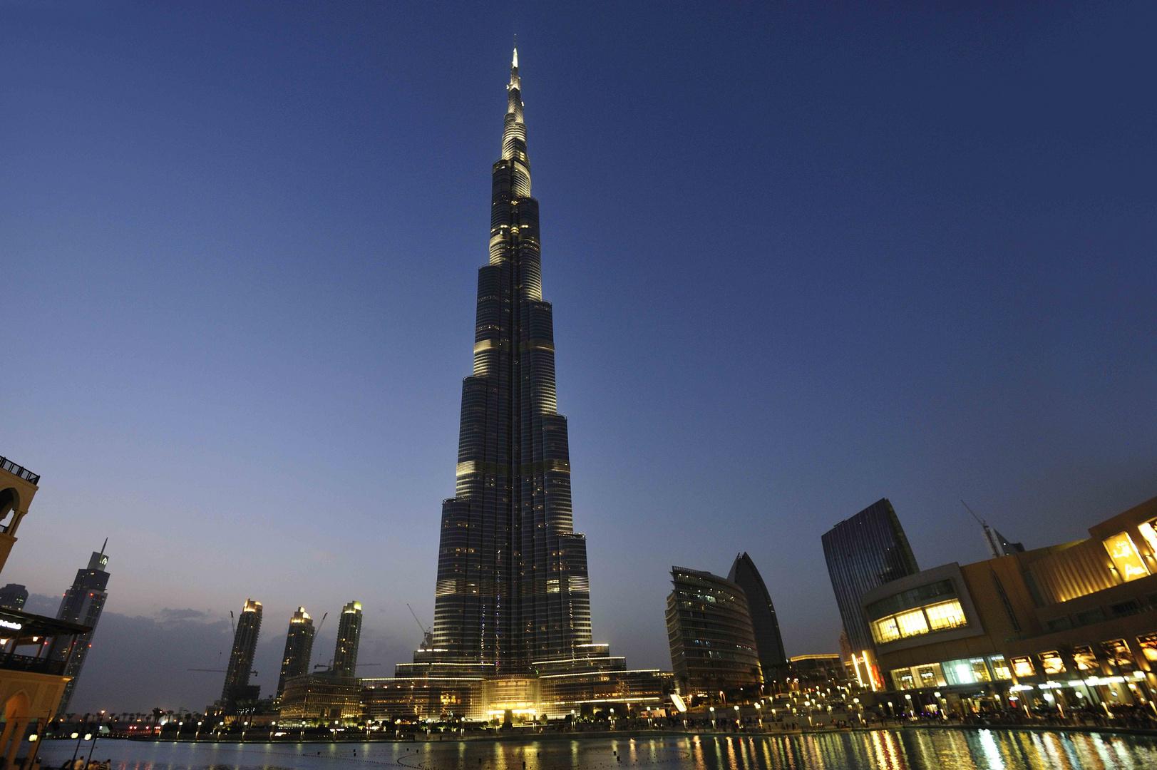 burj khalifa das h chste haus der welt foto bild asia middle east united arab emirates. Black Bedroom Furniture Sets. Home Design Ideas