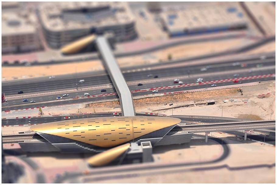 - Burj Khalifa / Dubai Mall Metro Station -
