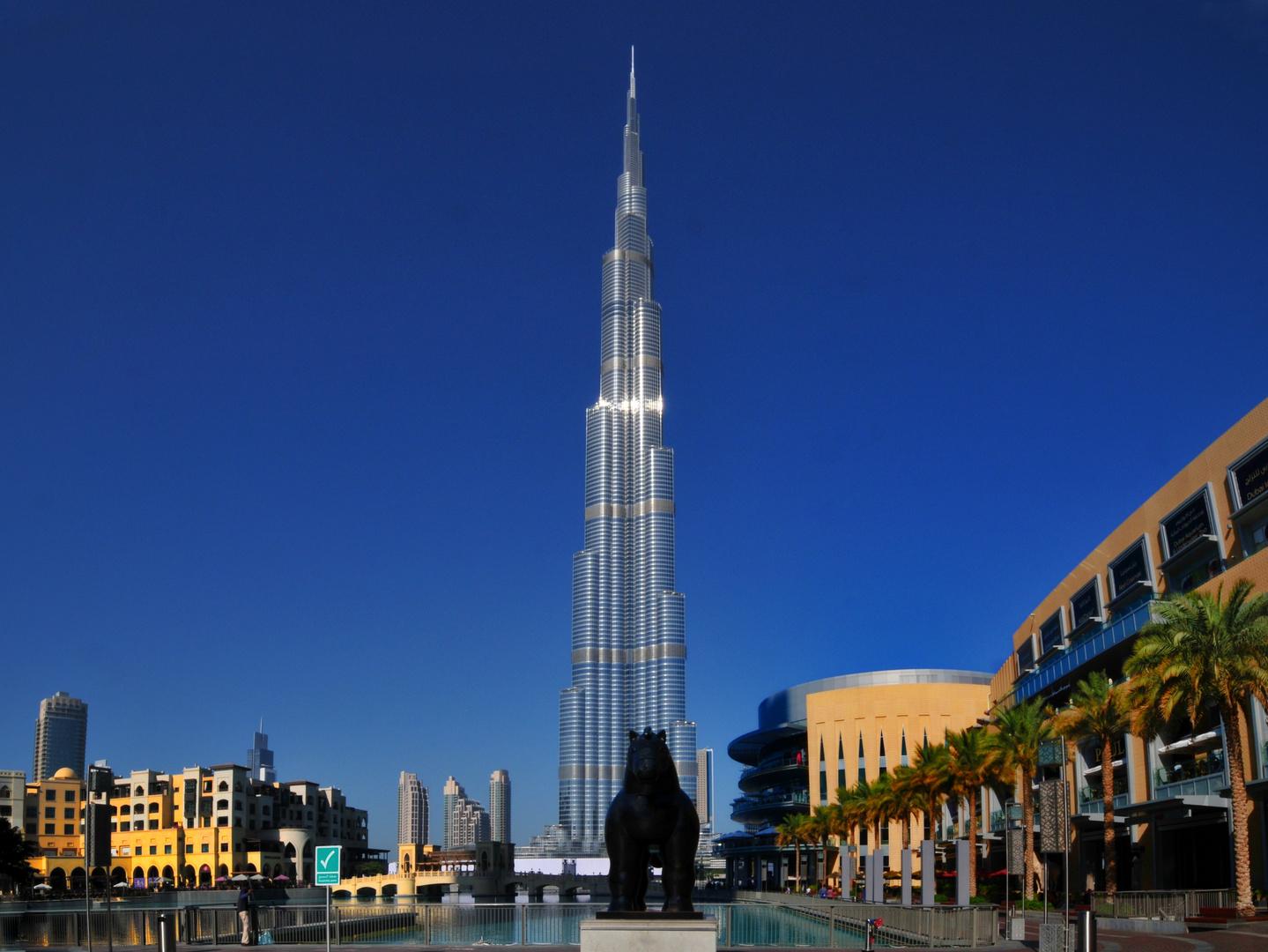 Burj Khalifa höchstes Gebäude der Welt