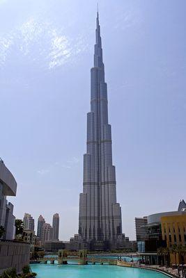 Burj Khalifa ist (noch) das größte Gebäude der Welt