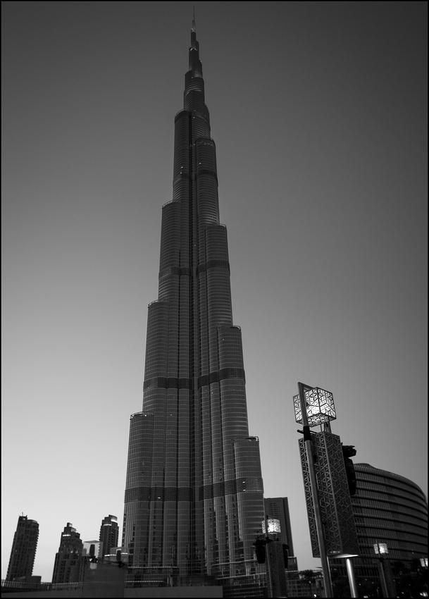 Burj Khalifa mal anders
