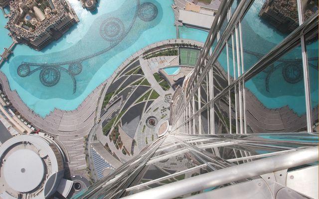 Burj Khalifa - von oben herab...