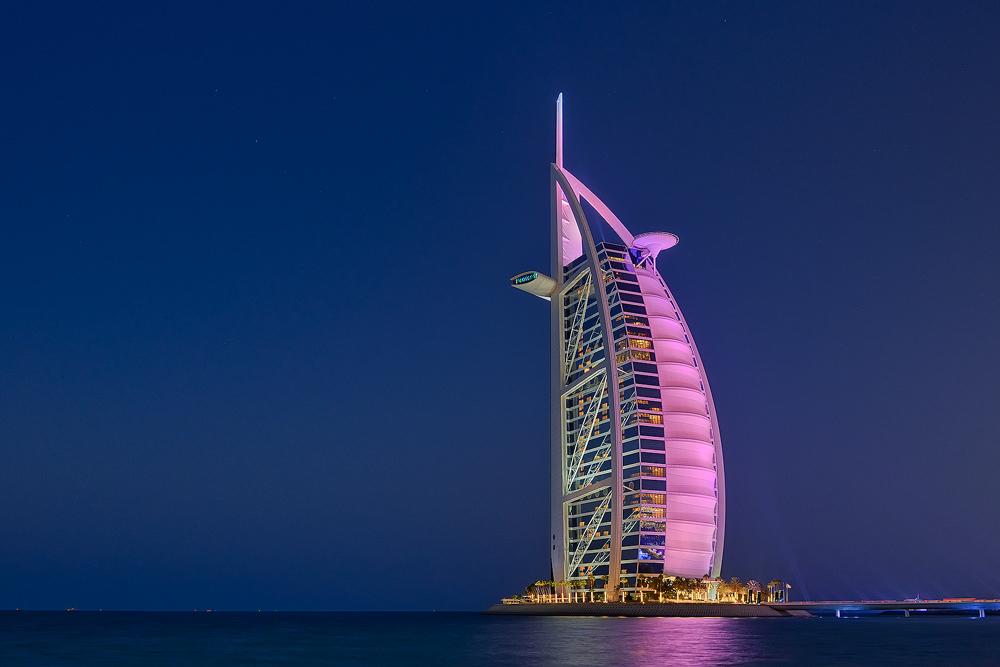 ... Burji al Arab in Pink ...
