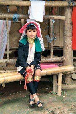 Burma-Mädchen