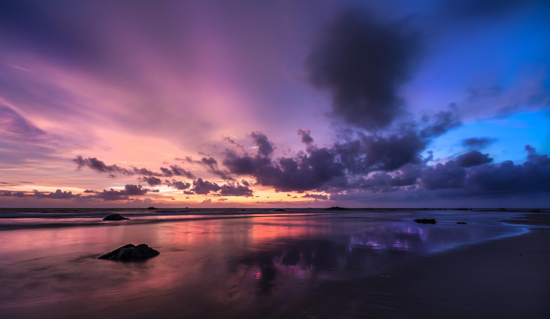 Burma - Ngwe Saung Beach