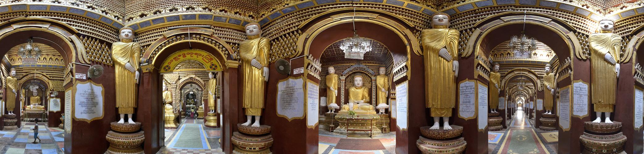 Burma, Tempel