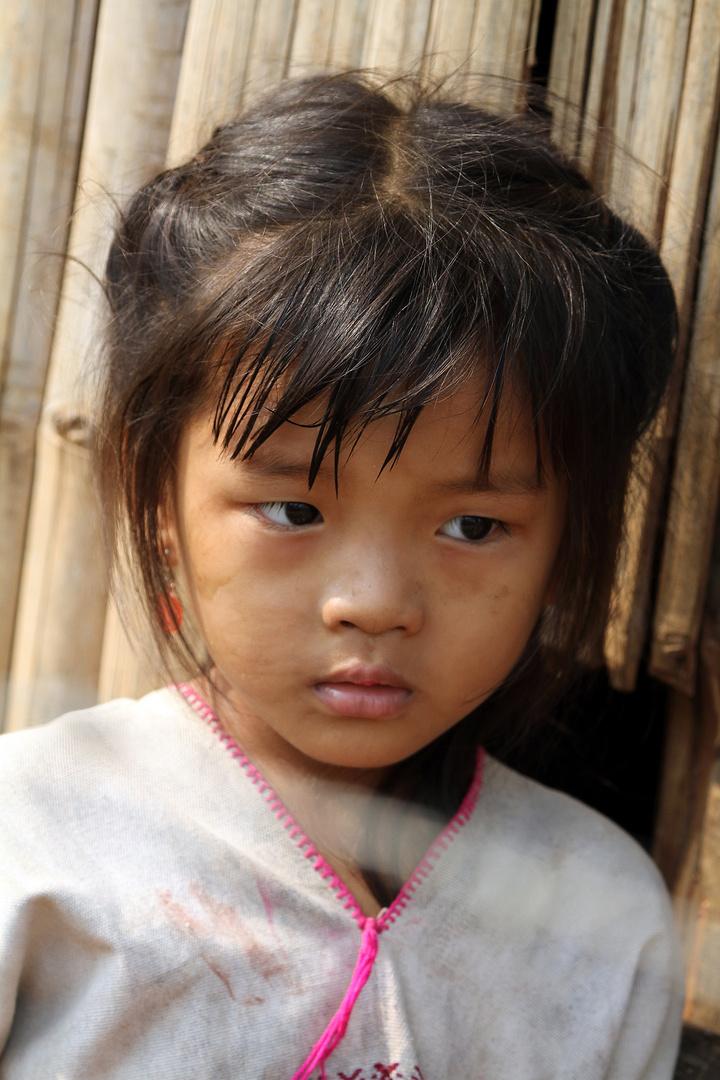 Burmese refugee Karen Girl