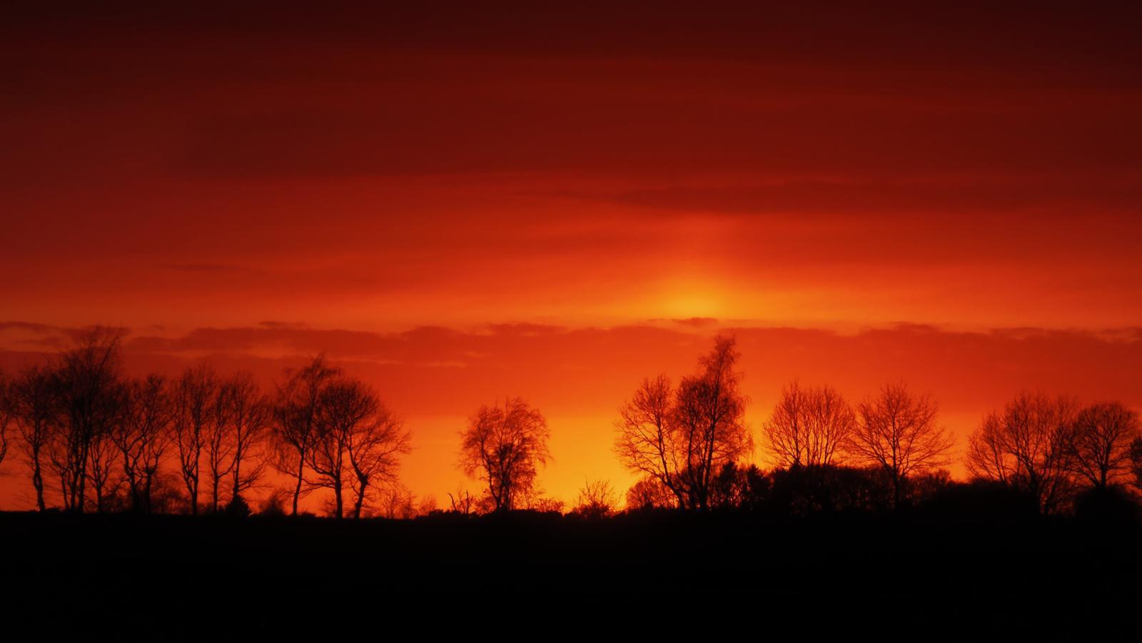 burning......