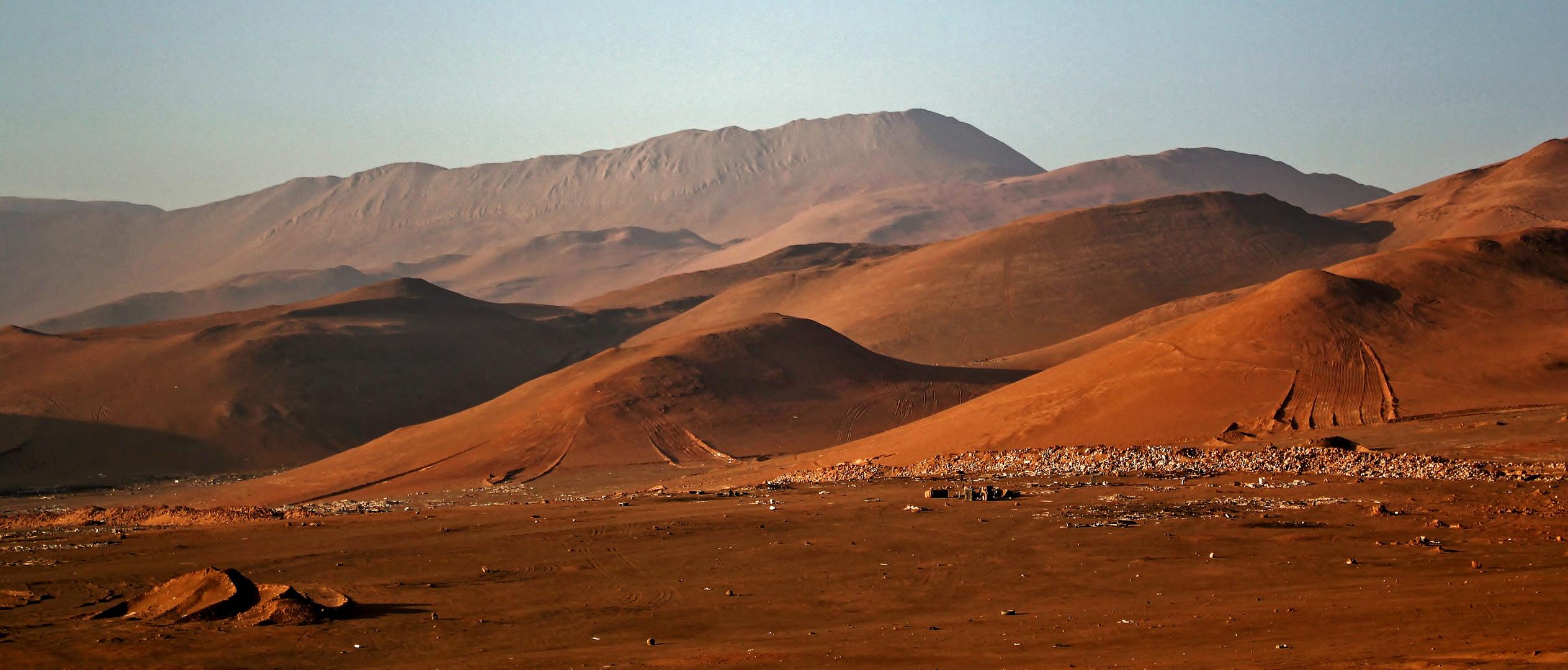 Burning Desert