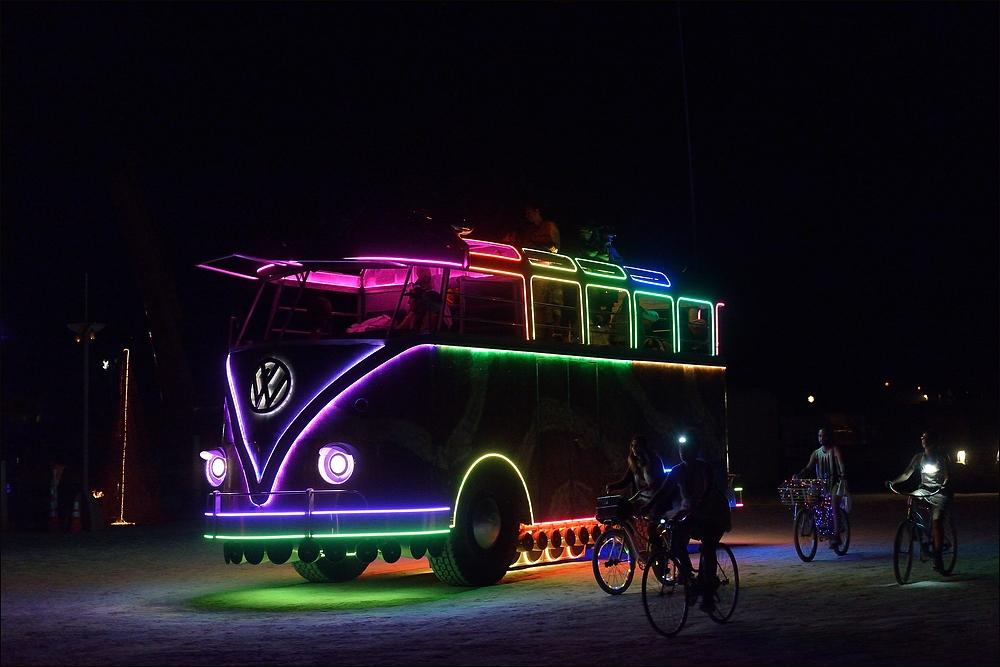 Burning Man 2014 - Fun Car